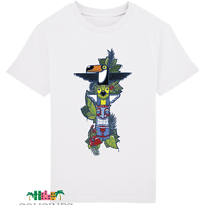 T-shirt Totem Cousines