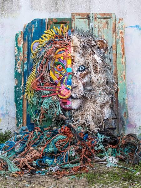 Trash Animals Bordalo 2