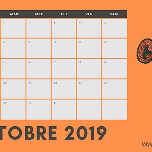 mon mois d'octobre