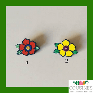 BROCHE FLOWER POWER