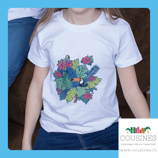 T-shirt Toucan Coton Biologique