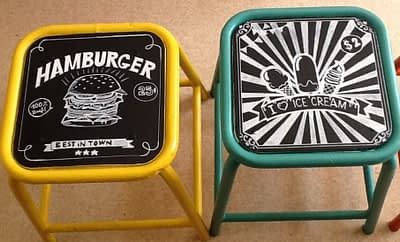 Customisation Tabouret