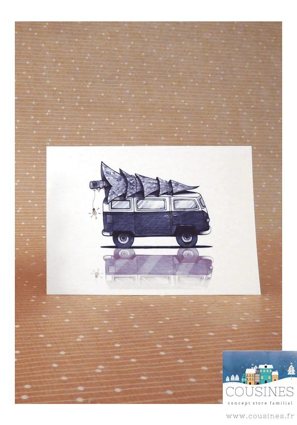 Carte postale Van A6