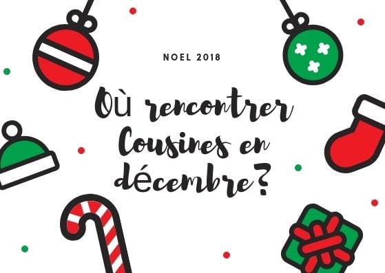 marchés de Noël 2018